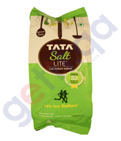 Buy Tata Salt Lite- Low Sodium Iodised 1Kg Online in Qatar