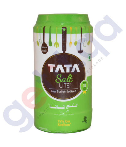 Buy Tata Salt Lite- Low Sodium Iodised 750g Online in Qatar