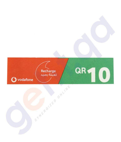 SHOP FOR VODAFONE RECHARGE VOUCHER 10 ONLINE IN QATAR