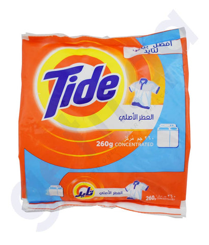 Buy Tide Washing Powder 260gm Price Online in Doha Qatar