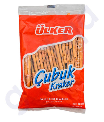 Buy Ulker Cubuk Kraker 30gm Price Online in Doha Qatar