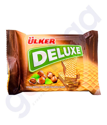 Buy Ulker Deluxe Filled Hazelnut Cream Online in Doha Qatar