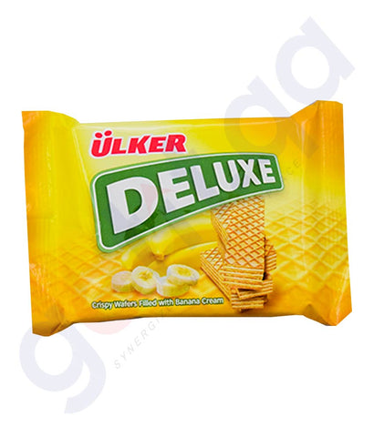 Buy Ulker Deluxe Filled Banana Cream Online in Doha Qatar