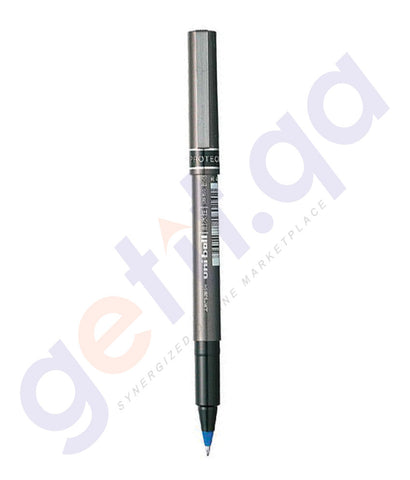 BUY UNI BALL MICRO DELUX ROLLER PEN - PACK OF 12 BLUE - MI-UB155-BE ONLINE IN QATAR