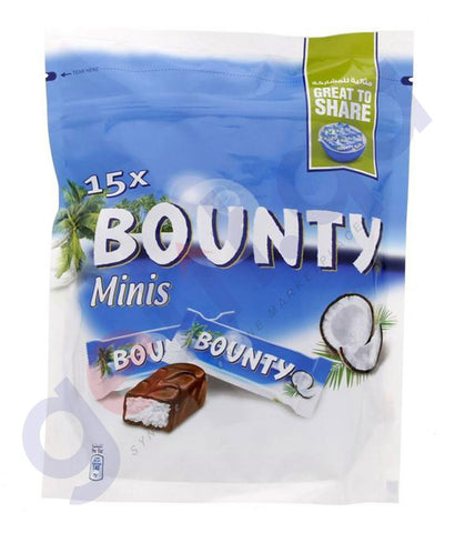 BUY BEST QUALITY BOUNTY 15X MINIS 427.5GM ONLINE IN QATAR