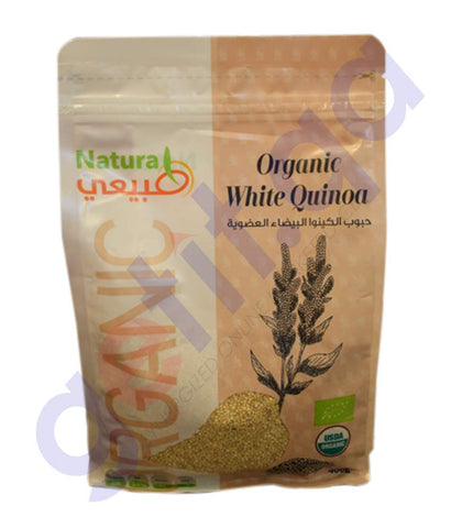 GETIT.QA | BUY NATURAL ORGANIC WHITE QUINOA 400GM ONLINE IN DOHA QATAR
