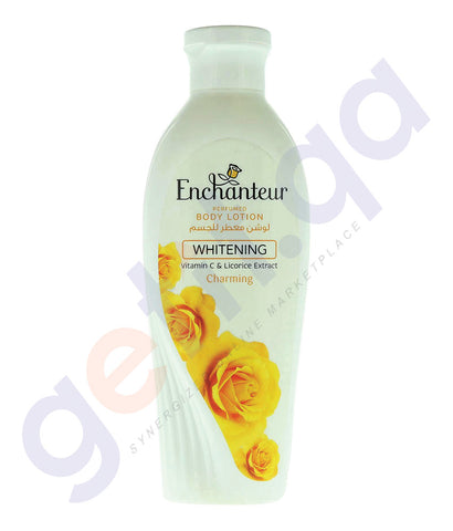 BUY ENCHANTEUR WHITENING CHARMING LOTION ONLINE IN QATAR