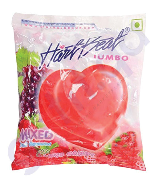 BUY BEST QUALITY HARTBEAT CANDY MIXED FLAVOURS 1KG IN QATAR