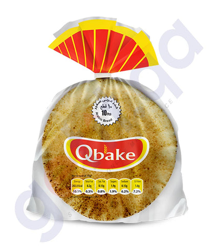 Buy Qbake Arabic Bread White Price Online in Doha Qatar