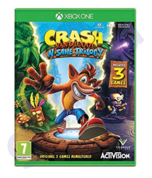BUY BEST PRICED CRASH BANDICOOT FOR  XBOX ONLINE IN QATAR