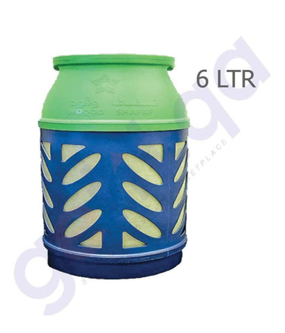 Buy Shafaf LPG Gas Cylinder 6Kg Price Online in Doha Qatar