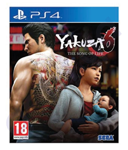 BUY BEST PRICED YAKUZA 6 FOR PS4 ONLINE IN DOHA QATAR