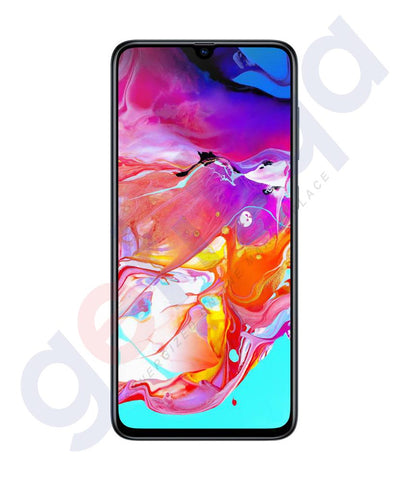 Buy Samsung Galaxy A70- 6GB 128GB Black Price in Doha Qatar