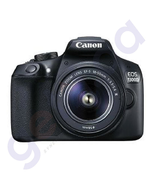 BUY CANON EOS 1300D 18-55DC+75-300 KIT DSLR ONLINE IN DOHA QATAR