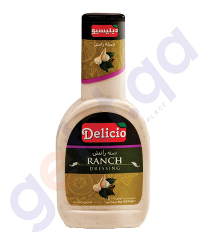 BUY BEST PRICED DELICIO RANCH DRESSING 320 ML IN QATAR