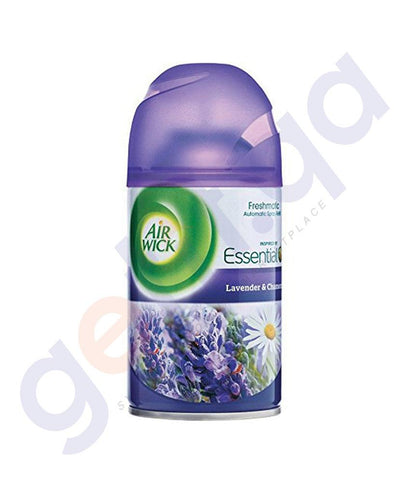AIR FRESHNER - AIR WICK 250 ML LAVENDER & CAMOMILE AUTOMATIC SPRAY REFILL