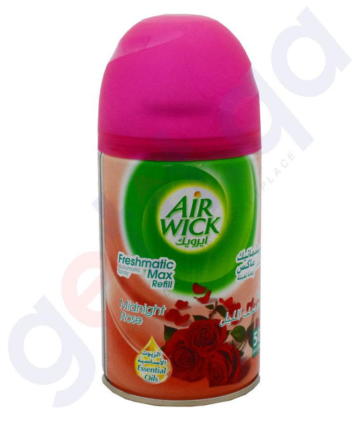 AIR FRESHNER - AIR WICK 250 ML ROSE AUTOMATIC SPRAY REFILL