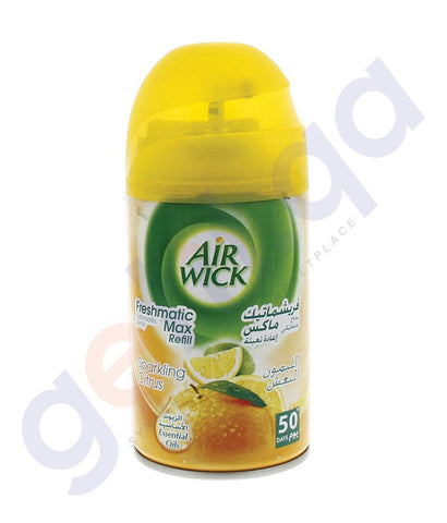 AIR FRESHNER - AIR WICK 250 ML SPARKLING CITRUS AUTOMATIC SPRAY REFILL