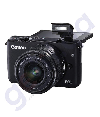 BUY CANON EOS M10 EF-M DSLR 15-45MM ONLINE IN DOHA QATAR
