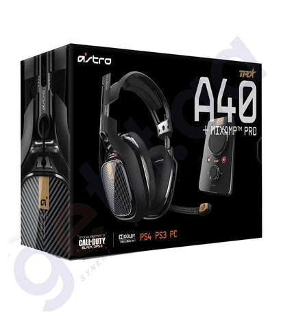 AUDIO DEVICE - ASTRO A40 GAMING HEADSET & MIXAMP PRO