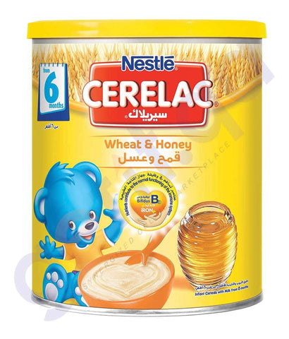 BABY FOOD - NESTLE CERELAC 6 MONTHS WHEAT & HONEY- 400GM