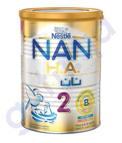 BABY FOOD - NESTLE NAN H.A2 -  400GM