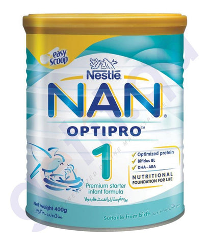BABY FOOD - NESTLE NAN OPTIPRO 1 - 400GM