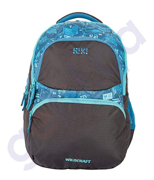 BAGS - WILDCRAFT BACKPACK CITY 5 - BLUE