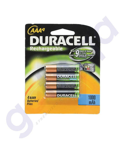 BATTERIES - DURACELL RECHARGEABLE AAA BATTERY