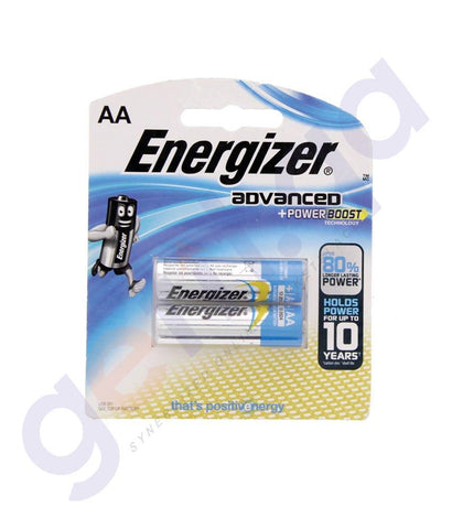 BATTERIES - ENERGIZER ADVANCED +POWER BOOST AA BATTERY - X91RP2