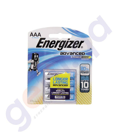 BATTERIES - ENERGIZER ADVANCED + POWER BOOST AAA BATTERY - X92RP8