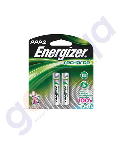 BATTERIES - ENERGIZER RECHARGEABLE AAA BATTERY -NH12