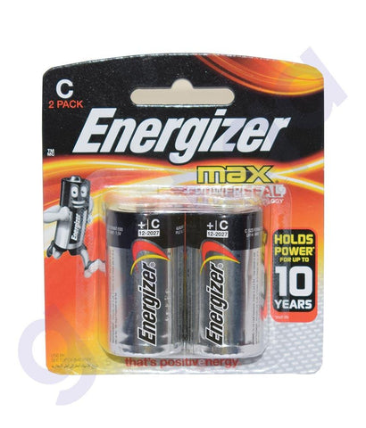 Battery - ENERGIZER BATTERY  MAX C SIZE