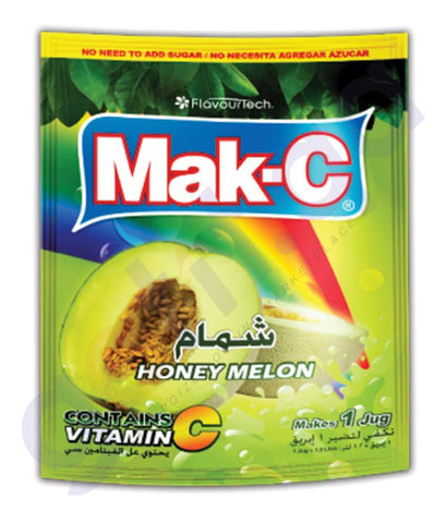 BEVERAGES - MAK-C HONEY MELON POUCH 102GM