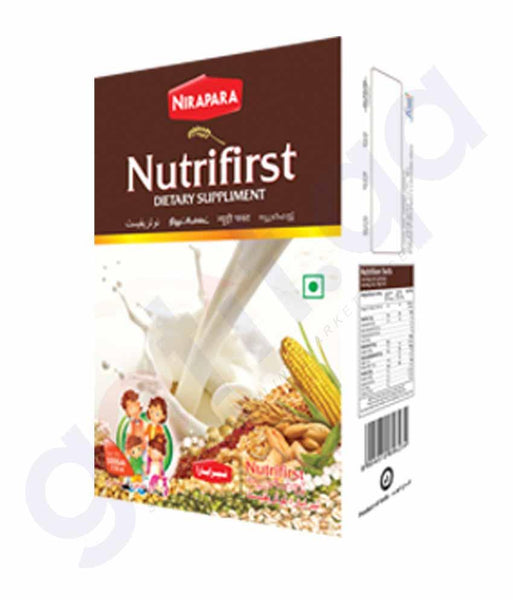 BEVERAGES - NIRAPARA NUTRIFIRST HEALTH MIX (DUP) 500GM