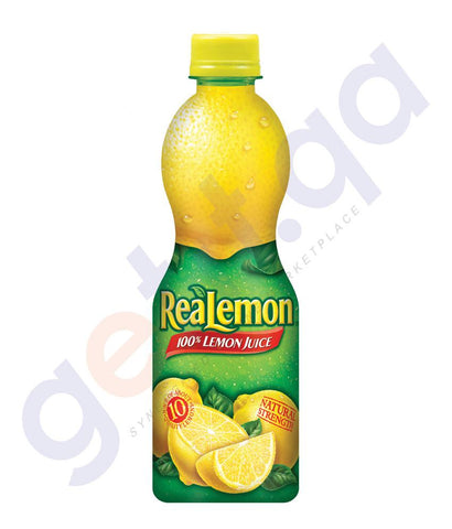 BEVERAGES - REAL LEMON JUICE (BELGIUM)