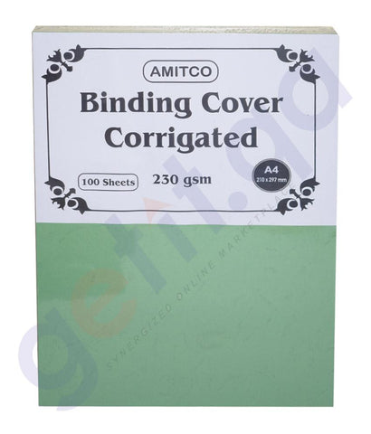 BINDING & LAMINATION - CORRIGATED SHEET  A4 230 GSM BY AMITCO