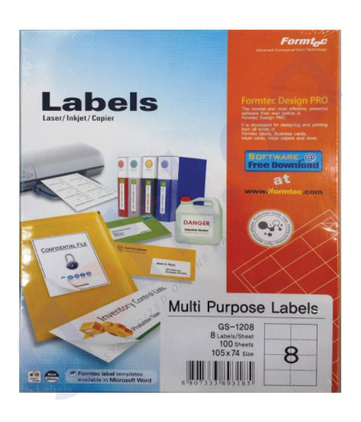 BINDING & LAMINATION - FORMTEC LABEL