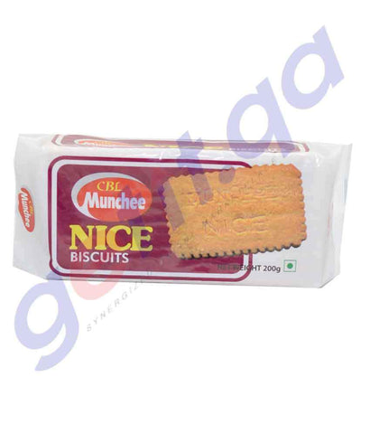 BISCUITS - MUNCHEE NICE BISCUITS - 200GM
