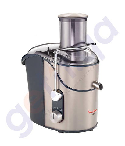 BLENDER - MOULINEX CENTRIFUGAL JUICE EXTRACTOR -SILVER- 1200WATTS -JU655H27