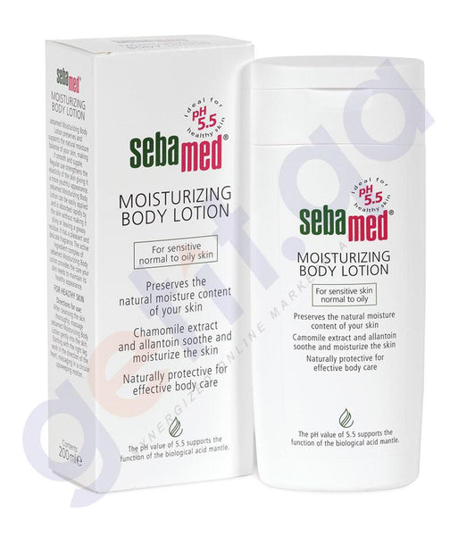 BODY LOTION - SEBAMED MOISTURIZING BODY LOTION 200ML