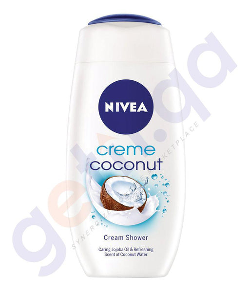 BODY WASH - NIVEA CRÈME COCUNUT CREAM  SHOWER - 250ML