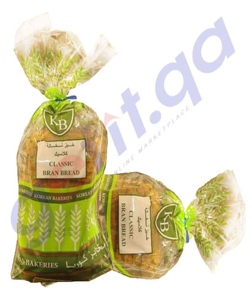BREAD - CLASSIC BRAN BREAD ( 1 PIECE ) 300GM