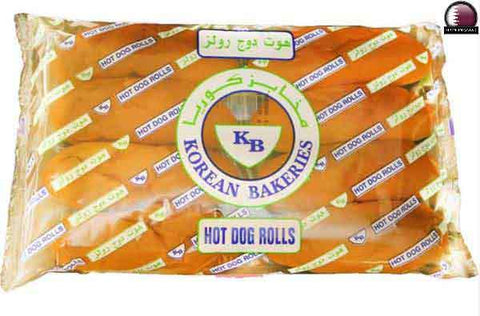 BREAD - HOT DOG ROLLS 8 PCS - 350GM