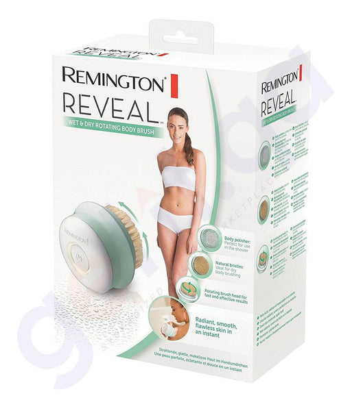 BRUSH - Remington Reveal Body Cleansing Shower Brush (Rechargeable) BB1000