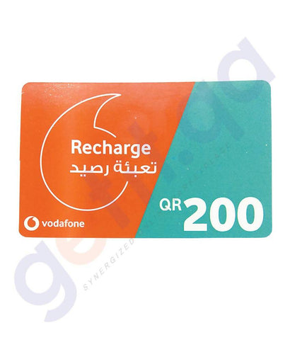 SHOP FOR VODAFONE RECHARGE VOUCHER 200 ONLINE IN QATAR