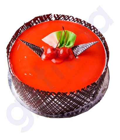 Buy Best Quality Strawberry Cake 1Kg Price in Doha Qatar