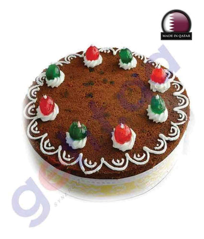 CAKE - PLUM CAKE-WITHOUT CREAM - 2KG