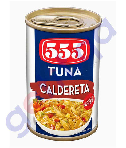 CANNED FISH - 555 TUNA - CALDERETA - 155GM