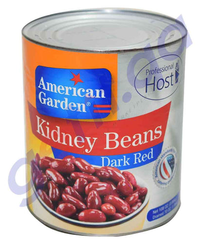 CANNED FOOD - AMERICAN GARDEN DARK RED KIDNEY - 3.6KG